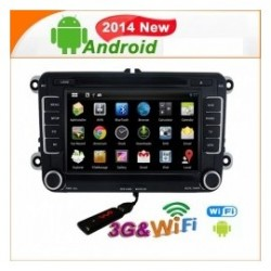 Navigatore volkswagen golf 6 polo Android 4.4 PURO ST7698
